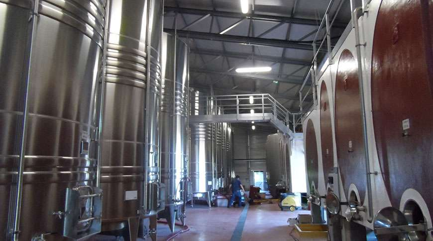 winery steel hall metal storage buildings prefab