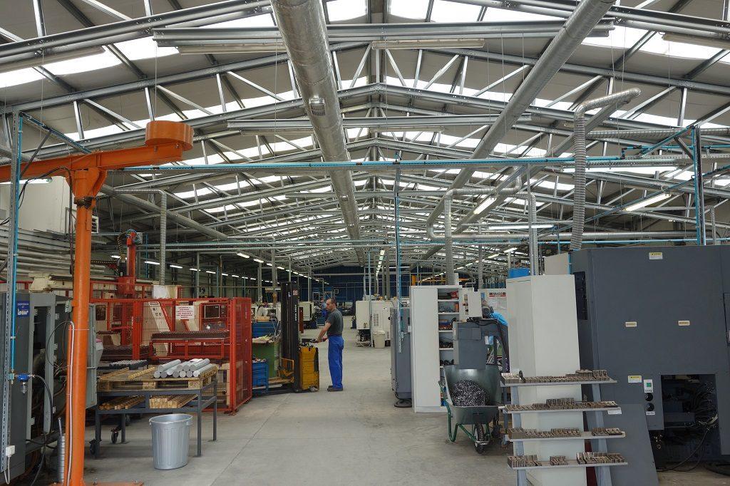 Производствена сграда на Копа Хидросистем ООД - сглобяеми стоманени конструкции