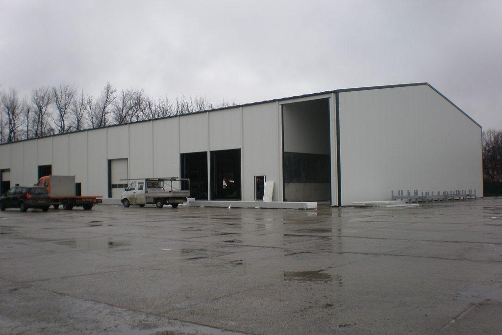 Стоманена производствена сграда и склад за съхранение за Керпи ООД
