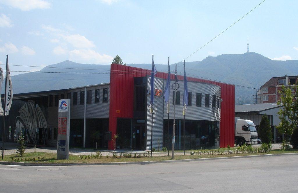 Сглобяеми метални сгради - търговска площ с офисна част на второ ниво и складове