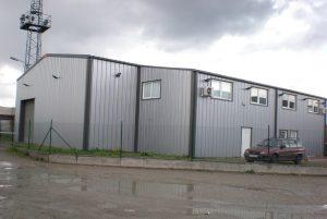 Стоманени конструкции - склад, производствена сграда и офис