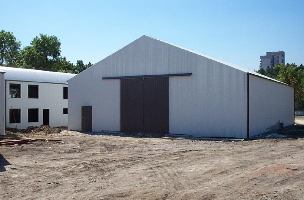 Временни метални сгради с перфектна водоустойчивост и топлоизолация
