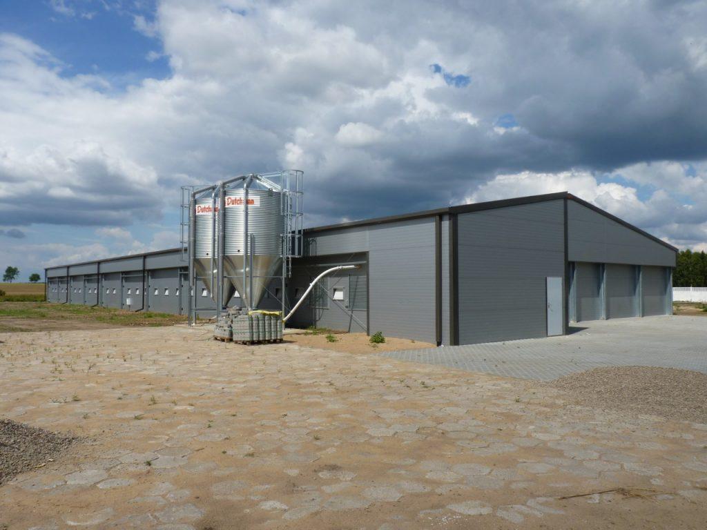 сгради за ферми за пилета