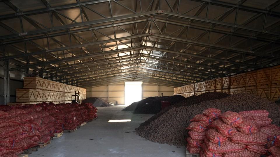 производители на складове за картофи