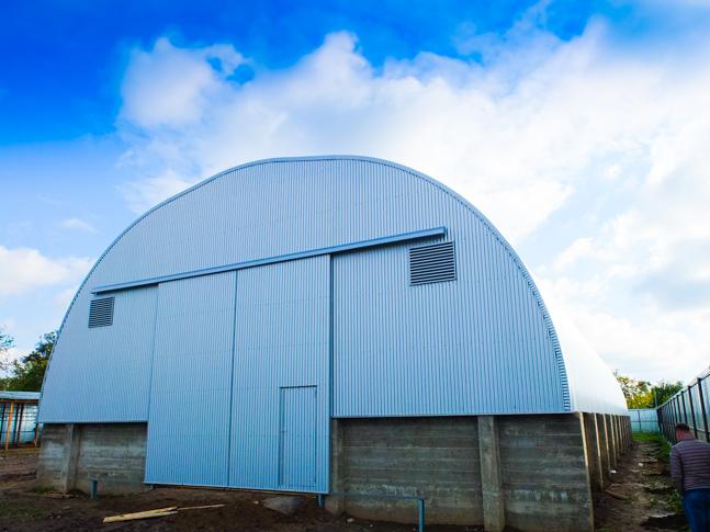 земеделски сгради за складиране