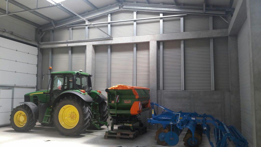 сгради за складиране на биоземеделие
